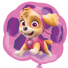 Paw Patrol Skye & Everest Large Foil Balloon 1pc